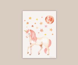 Unicorn poster A4