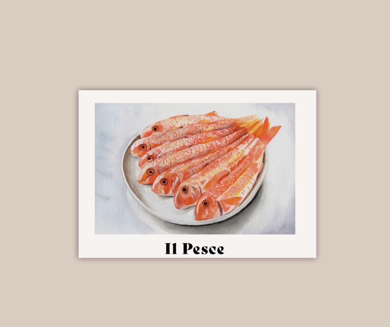 Il Pesce A5 poster | pre-order