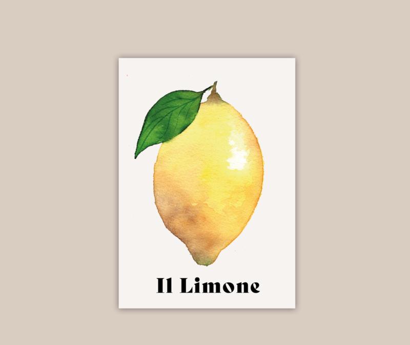 Il Limone II poster A5   pre-order