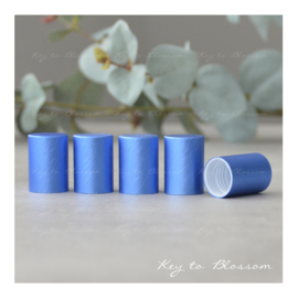 Roller Bottle Caps - Set of 5 - Dark Blue NEW STYLE