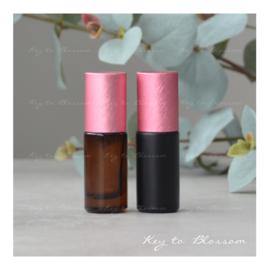 Rainbow Roller 5 ml - Roze (diverse opties)