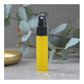 Glass Spray Bottle (10ml) - Yellow Matte