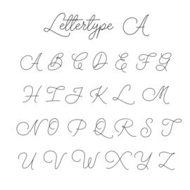 Letter - Medium