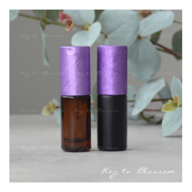 Rainbow Roller 5 ml - Paars NEW STYLE (diverse opties)