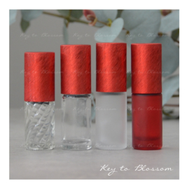 Rainbow Roller Bottle (5ml) - Red NEW STYLE