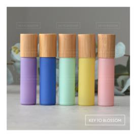 Pastel Rollers Bamboe 10 ml - Set van 5