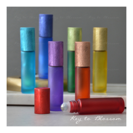 Rainbow Roller Bottles 10 ml - Set of 7