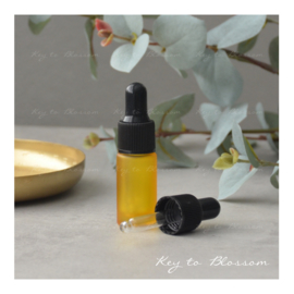 Glass Dropper Bottle (5ml) - Yellow