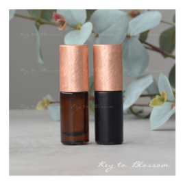 Rainbow Roller Bottle (5ml) - Orange/Bronze NEW STYLE
