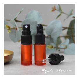 Glass Spray Bottle (5ml) - Orange