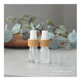 Glass Spray Bottle (5ml) - Bamboo (multiple options)