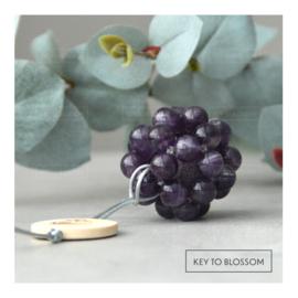 MoleQ - Passive Aroma Diffuser - Purple Rain (Amethyst)