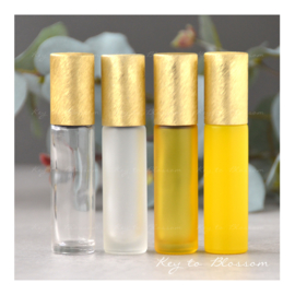 Rainbow Roller 10 ml - Geel/Goud NEW STYLE (diverse opties)