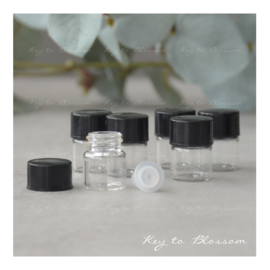 Sample Vial Bottles 1ml - Set of 25