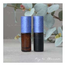 Rainbow Roller 5 ml - Donker blauw NEW STYLE (diverse opties)