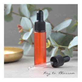 Glass Dropper Bottle (10ml) - Orange
