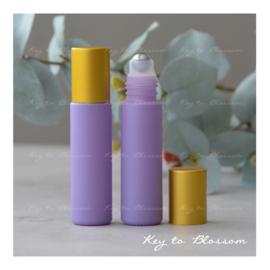 Rainbow Roller Mat Gouden dop 10 ml - Licht Paars/Lila