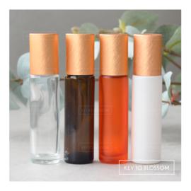 Rainbow Roller Bottle (10ml) - Orange/Bronze NEW STYLE