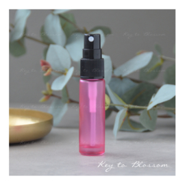 Glass Spray Bottle (10ml) - Pink frosted