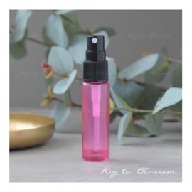 Glazen spray fles (10 ml) - Roze