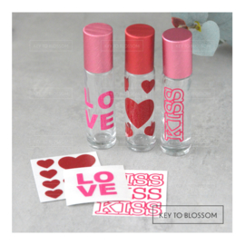 Sticker Set LOVE - Set of 3