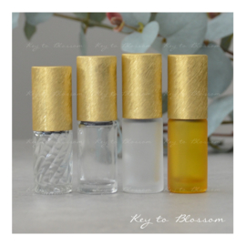 Rainbow Roller Bottle (5ml) - Yellow/Golden NEW STYLE