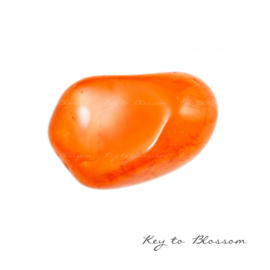 Carnelian (Red) - Tumbled cuddle stone