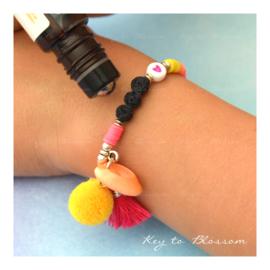 Lava Rock KIDS Geel/Oranje/Roze