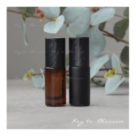 Glass Roller Bottle (5ml) - Brushed Black