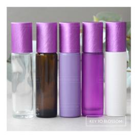 Rainbow Roller Bottle (10ml) - Purple NEW STYLE