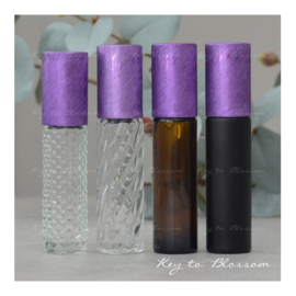 Rainbow Roller 10 ml - Paars NEW STYLE (diverse opties)