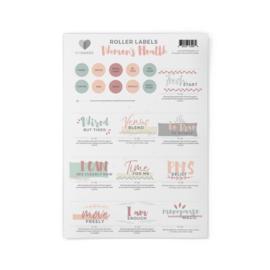 MyMakes: Roller Recipes - Women's Health (stickervel)