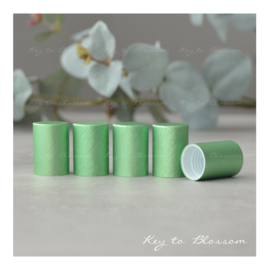 Roller Bottle Caps - Set of 5 - Green NEW STYLE