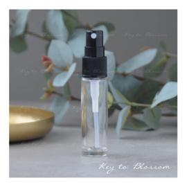 Glazen spray fles (10 ml)