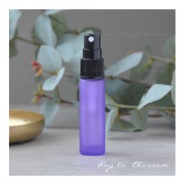 Glazen spray fles (10 ml) - Paars