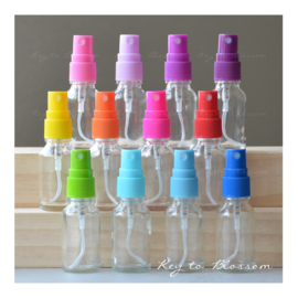 Glass Spray Bottles 15ml - Set of 3 (Mix&Match)
