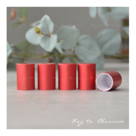 Roller Bottle Caps - Set of 5 - Red NEW STYLE