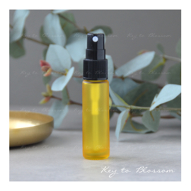Glass Spray Bottle (10ml) - Yellow frosted