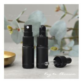 Glass Spray Bottle (5ml) - Black Matte