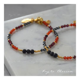 Lava Rock Bracelet Zodiac - Aries (March 21 to April 19)