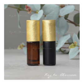 Rainbow Roller 5 ml - Geel/Goud NEW STYLE (diverse opties)