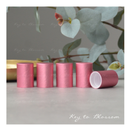 Roller Bottle Caps - Set of 5 - Pink
