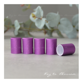 Roller Bottle Caps - Set of 5 - Purple NEW STYLE