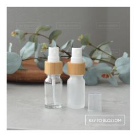 Glass Spray Bottle (10ml) - Bamboo (multiple options)