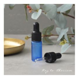 Glass Dropper Bottle (5ml) - Dark Blue