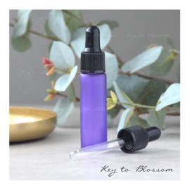 Glass Dropper Bottle (10ml) - Purple