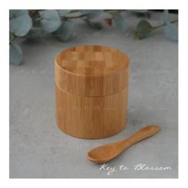 Bamboe pot (100 ml)