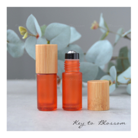 Rainbow Roller Bamboe 5 ml - Oranje