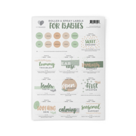 MyMakes: Roller Recipes - Natural Essentials for Babies (incl. 10 rollers/sprays)