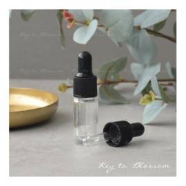 Glass Dropper Bottle (5ml) - Clear Glass
